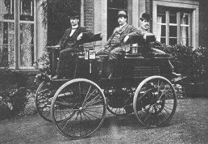 Automóvil eléctrico de Thomas Parker de 1895